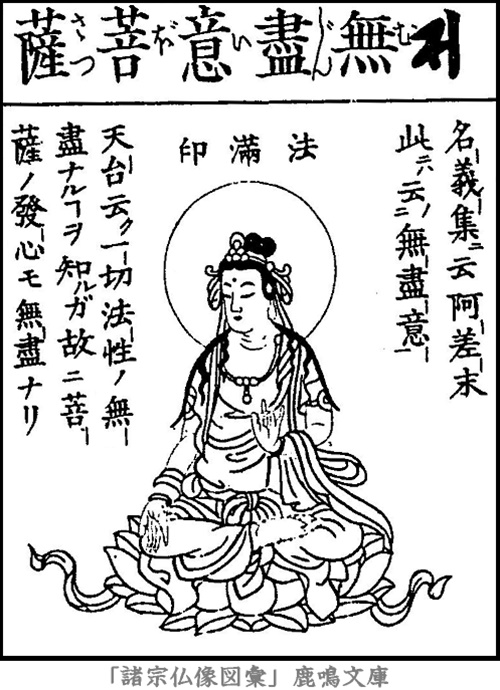 無尽意菩薩 | 菩薩部 | 仏像画像...